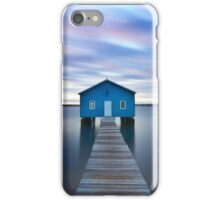 Sunrise at Matilda Bay Boatshed in Perth, Western Australia iPhone Case/Skin