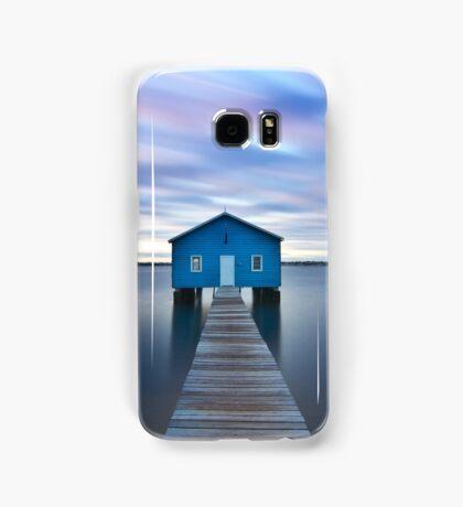 Sunrise at Matilda Bay Boatshed in Perth, Western Australia Samsung Galaxy Case/Skin