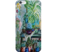 Table of a Plant Lover iPhone Case/Skin