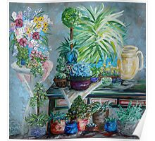 Table of a Plant Lover Poster