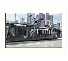 Hummer Tram Art Print
