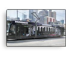 Hummer Tram Metal Print