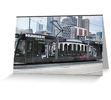 Hummer Tram Greeting Card