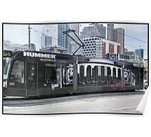 Hummer Tram Poster
