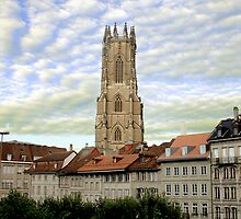 La Cathédrale Saint-Nicolas de Fribourg by Caprice Sobels