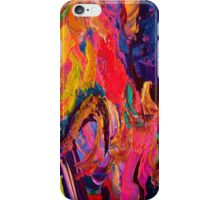 A Portrait of Color and Texture iPhone Case/Skin