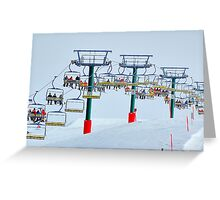 Up Up And Away - Mount Hotham , Victoria, Australia Greeting Card