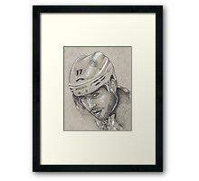 Milan Lucic - Boston Bruins Hockey Portrait Framed Print