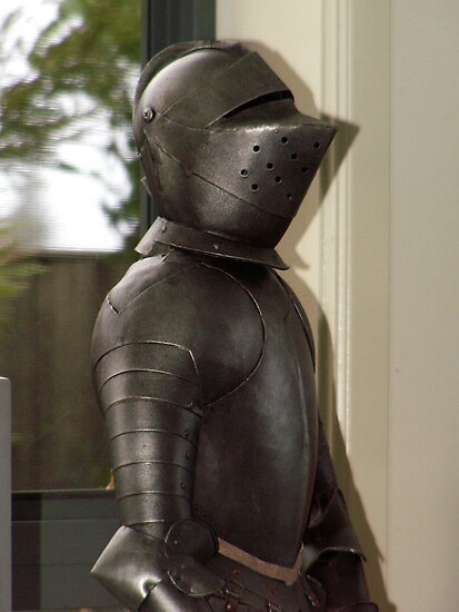 knight in armour by Paul Buckley