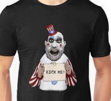 "Captain Spaulding ""Kick Me"" Unisex T-Shirt"