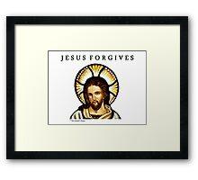 Jesus Forgives Framed Print