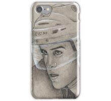 Daniel Paille - Boston Bruins Hockey Portrait iPhone Case/Skin
