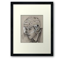 Daniel Paille - Boston Bruins Hockey Portrait Framed Print