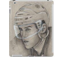 Daniel Paille - Boston Bruins Hockey Portrait iPad Case/Skin