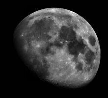 The Moon... by BluAlien