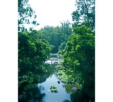 Tranquil Summer River Photographic Print