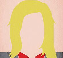 Minimalist Leslie Knope by jyingling
