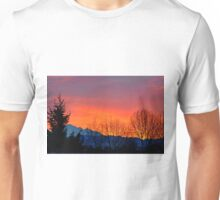 Sunrise with Mount Baker, Washington State, US Unisex T-Shirt