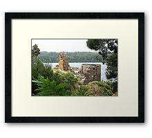 Location Location - Wilderness, Tasmania Framed Print