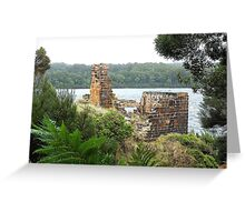 Location Location - Wilderness, Tasmania Greeting Card