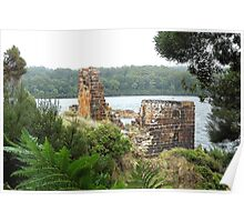 Location Location - Wilderness, Tasmania Poster