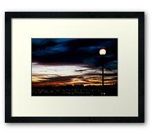 empty sky Framed Print