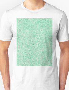 Green Zentangle Unisex T-Shirt