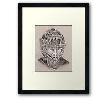 Tuukka Rask - Boston Bruins Hockey Portrait Framed Print