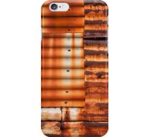Patchwork Iron iPhone Case/Skin