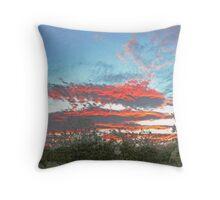 Mpumalanga Sunset Throw Pillow