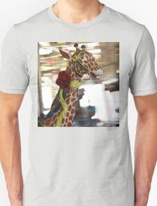 Giraffe on the Carousel T-Shirt