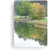 Reflecting Spring Canvas Print