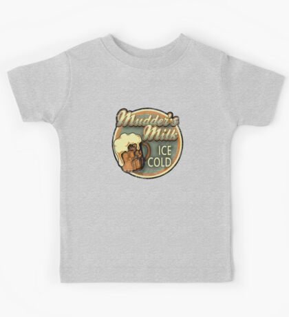 Mudder's Milk Vintage Sign Kids Clothes
