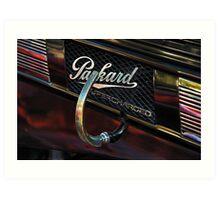 Packard Supercharged Art Print