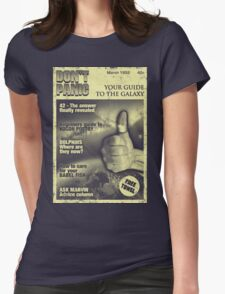 Guide to the Galaxy Womens Fitted T-Shirt