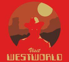 Visit Westworld Baby Tee