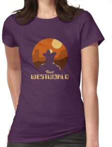 Visit Westworld Womens Fitted T-Shirt
