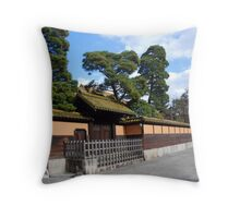 Kurashiki In Winter Throw Pillow