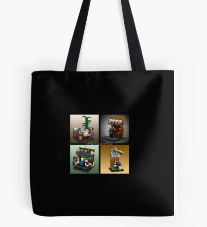 When Lego Goes Wrong (Number 010) Tote Bag