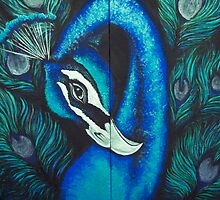 Peacock by Samantha Churchill