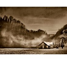 Winter in sepia Photographic Print