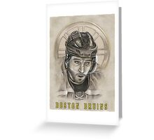 Boston Bruins - Patrice Bergeron Greeting Card