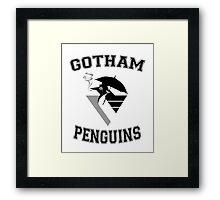 Gotham Penguins Framed Print