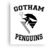 Gotham Penguins Canvas Print