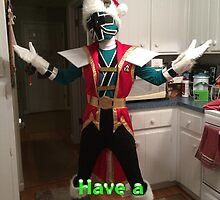 Have A Super Samuraized Christmas by Joe Bolingbroke
