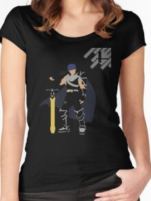 Ike (Minimalist SSB) Women's Fitted Scoop T-Shirt