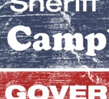 Bat Campbell for Governor Sticker