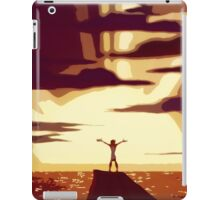 Go The Distance iPad Case/Skin