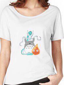 A tribute to Hayao Miyazaki Women's Relaxed Fit T-Shirt