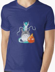 A tribute to Hayao Miyazaki Mens V-Neck T-Shirt